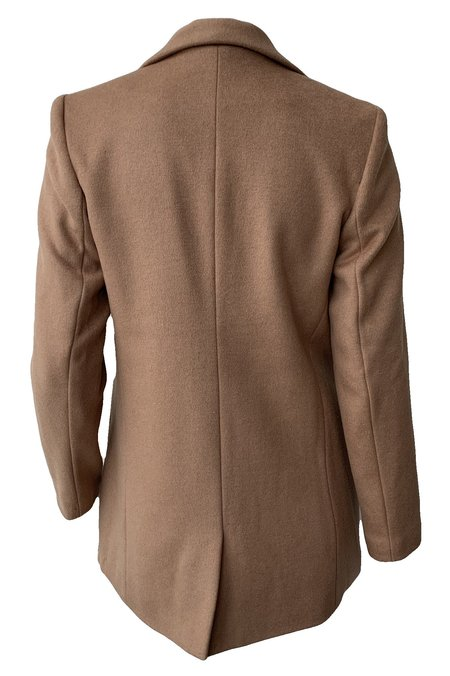 Emerson Fry Wool Wingtip 2 Dinner Jacket - Camel