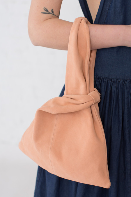 Creatures of Comfort Small Malia Bag in Peach