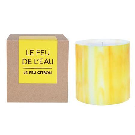 Le Feu De L'Eau  Le Feu Citron Citrus + Bergamot Candles