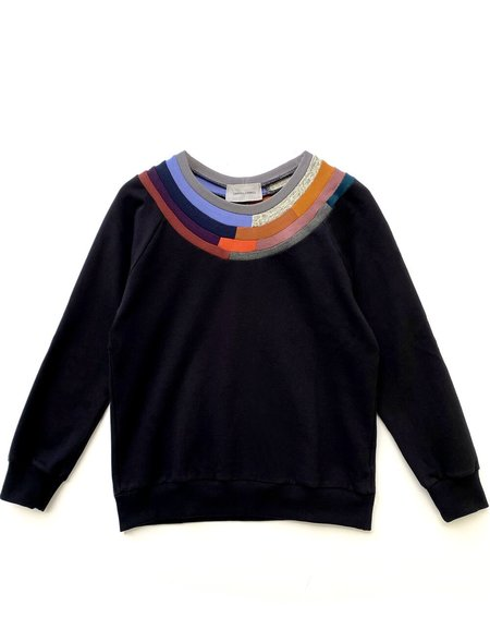 Correll Correll Mosaic Sweatshirt - Black