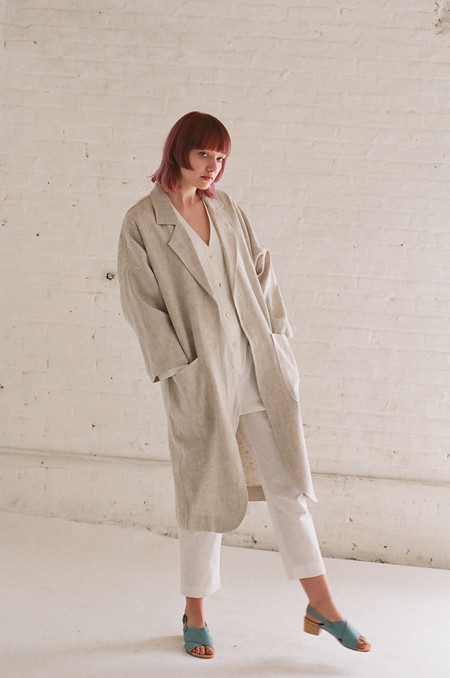 Horses Atelier Alchemical Jacket in Natural Linen