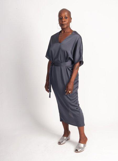 Meg Airflow Dress - Charcoal