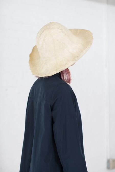 Reinhard Plank Cupola Paper Spiga Hat in Cream