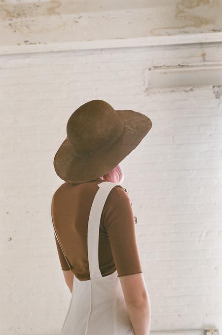 Reinhard Plank Dohan Straw Hat in Terra