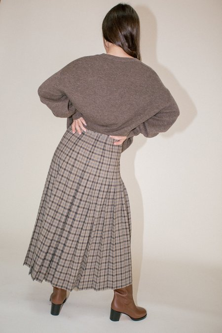 Maryam Nassir Zadeh Umbra Skirt - Willow