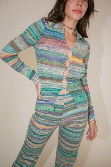Paloma Wool Avelina Top - Kiwi Green