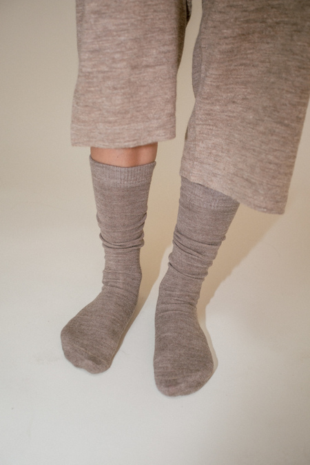 Lauren Manoogian Tall Socks - Mouse