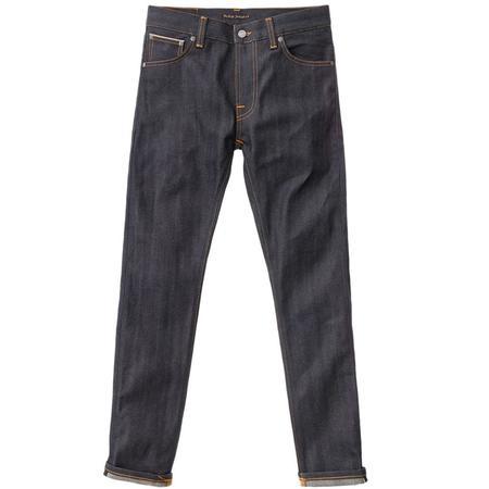 Thin Finn Dry L32 'Selvage Comfort'-Grey