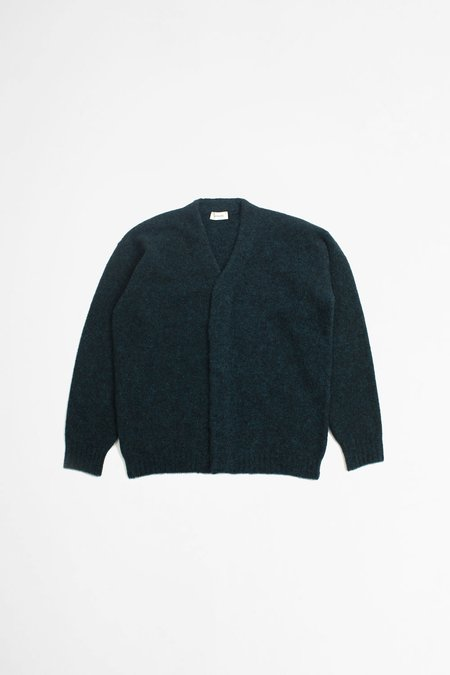 Lemaire Oversized Cardigan - Peacock