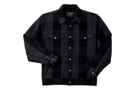 Filson Beartooth Camp Jacket - Black Gray Heather