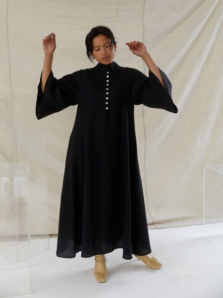 Steven Alan Dada Dress - Black