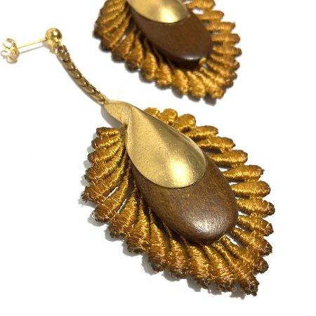 This Ilk Molokai Earrings - Mustard