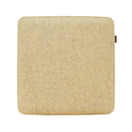 Graf Lantz Zabuton Bi-Color Square Felt Seat Pad