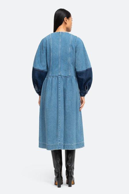 Sea NY Zariyah Patchwork Dress - Multi