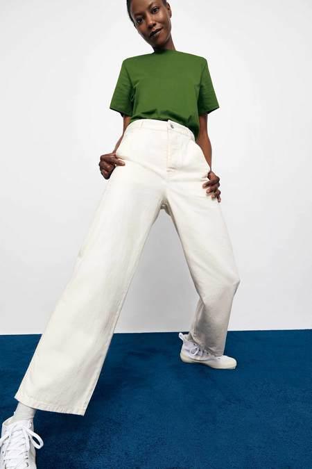 Kowtow Barrel Jeans - greige denim