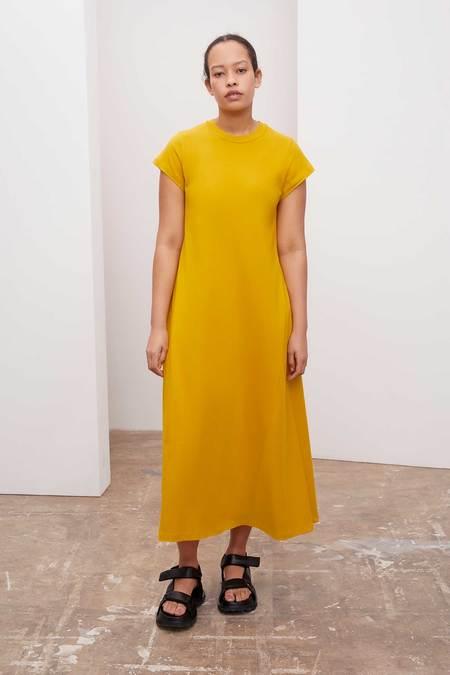 Kowtow Cap Sleeve Dress - sun