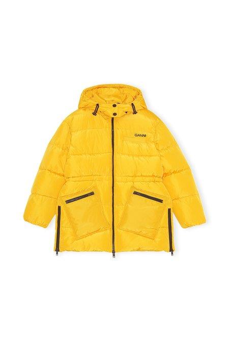Ganni Tech Puffer - Yellow