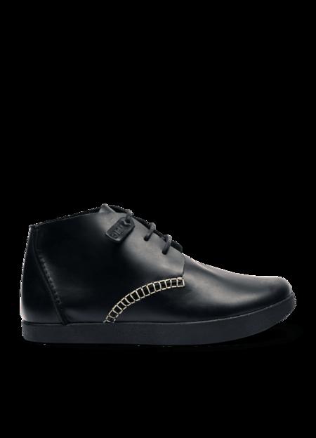 Yogi x YMC Men's Leather Archer Shoes - Black