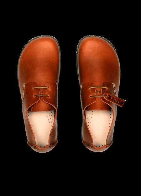 Yogi x YMC Men's Leather Orson Shoes - Tan