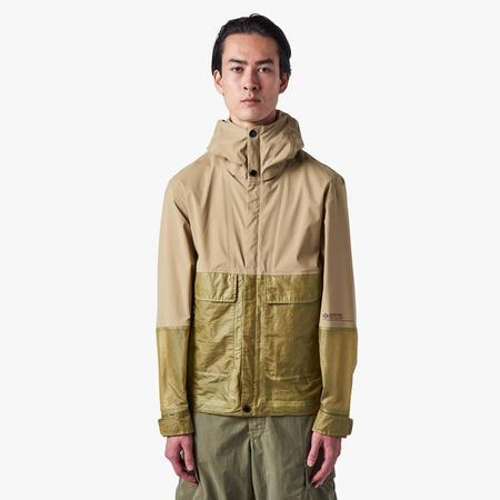 CP company GORE-TEX Infinium Mixed Goggle Jacket - yellow