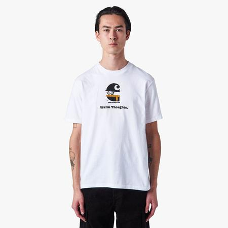 Carhartt WIP Warm Thoughts T-shirt - White