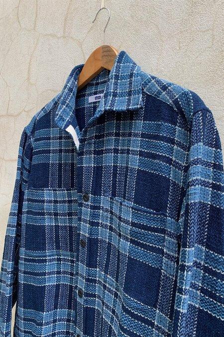 Indi Indi Ames Overshirt - Indigo Plaid