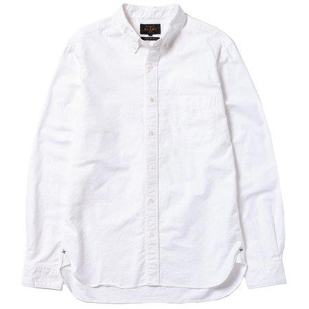 Beams Plus B.D. Oxford Shirt - White