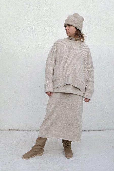 Lauren Manoogian Rib Pocket Pullover - Plaster