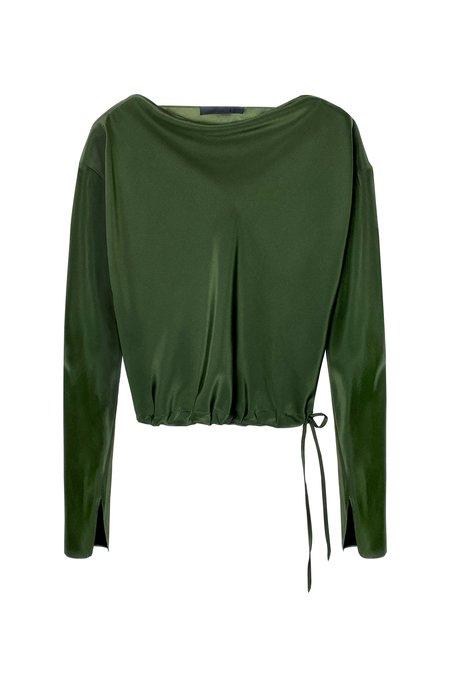 KES Salacia Long Sleeve Blouse - Natural