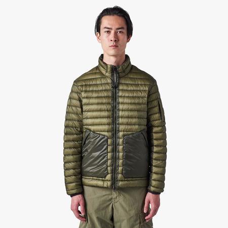 C.P. Company DD Stand Collar Jacket - Stone Grey