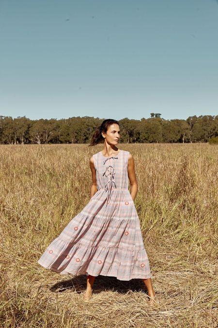 Little Tienda Emerson Dress - Pastel Bloom