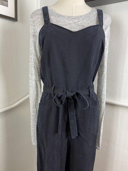 [PRE-LOVED] Paige Denim Black Jumpsuit -Black