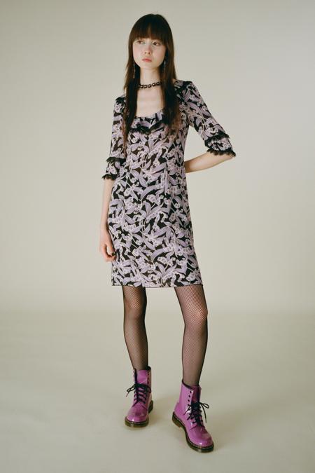 Grand Muguets Dress - Lavender