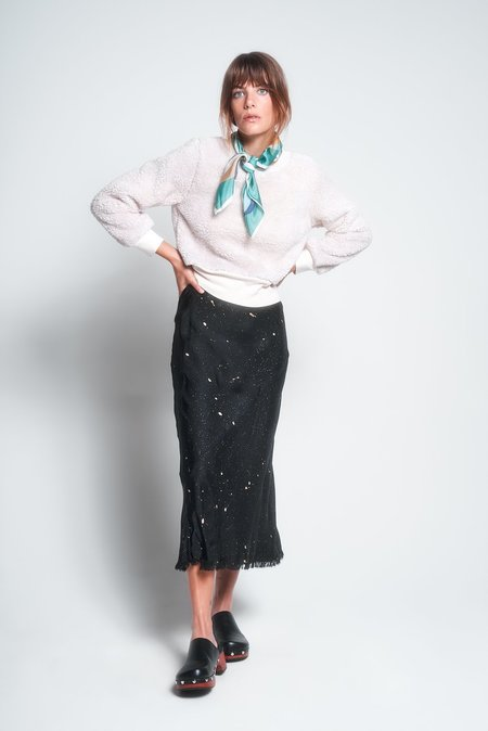 Aquarius Cocktail CJ skirt - black