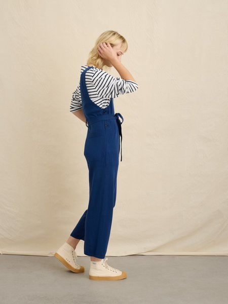 Alex Mill Ollie Knit Sweater Overall - Bright Navy