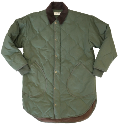 Alex Mill Quinn Quilted Jacket - green