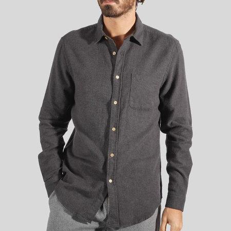 Portuguese Flannel Teca Shirt - GREY