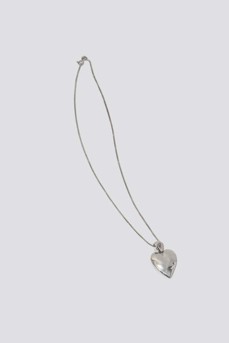 Mondo Mondo Heart Necklace - Silver