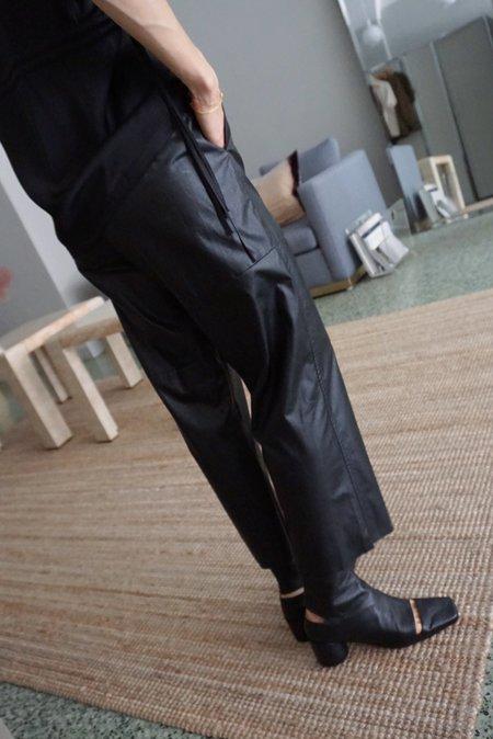 MM6 Maison Margiela Pleather Pants
