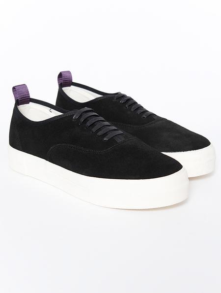 Eytys Mother Black Suede Sneakers