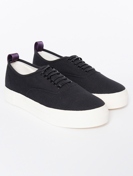 Eytys Mother Black Canvas Sneakers