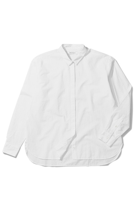 Norse Projects Agnak Paper Cotton Button Up