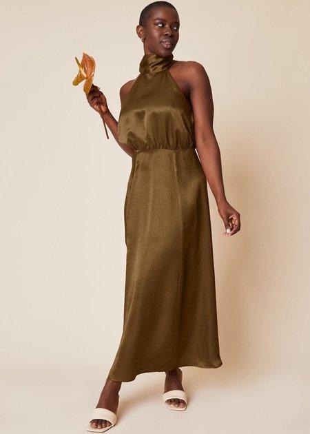 Whimsy + Row Ellis Dress - Hunter