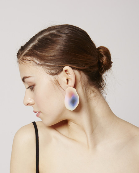 JULIE THÉVENOT Puddle Earrings in multicolor