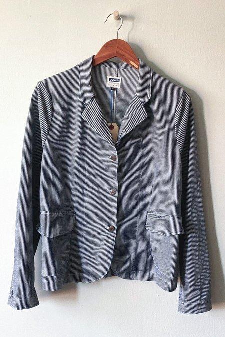 UQNATU Shrunken Blazer - Hickory Stripe