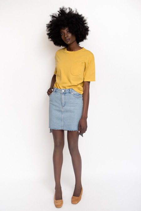 Unisex Olderbrother Short Tee / Turmeric