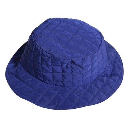 Kids Tia Cibani Child Down Bucket Hat - Licorice Blue