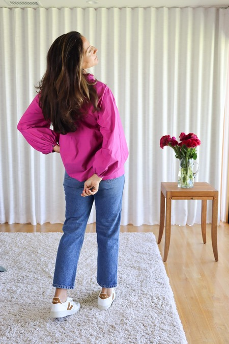 Fabiana Pigna Asha Shirt - Mulberry