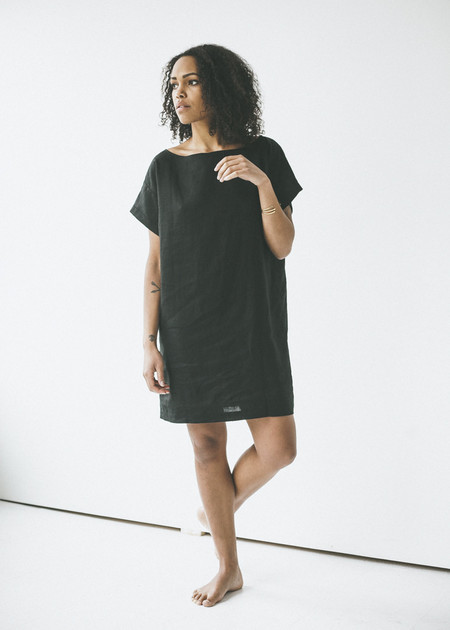 Ozma - Weekend Dress in Black