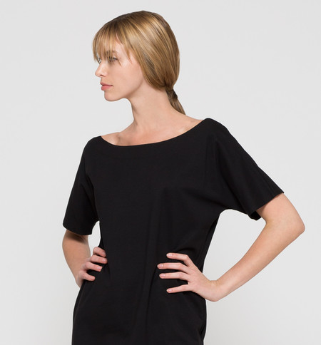 Kowtow Building Block Reversible Dress Black